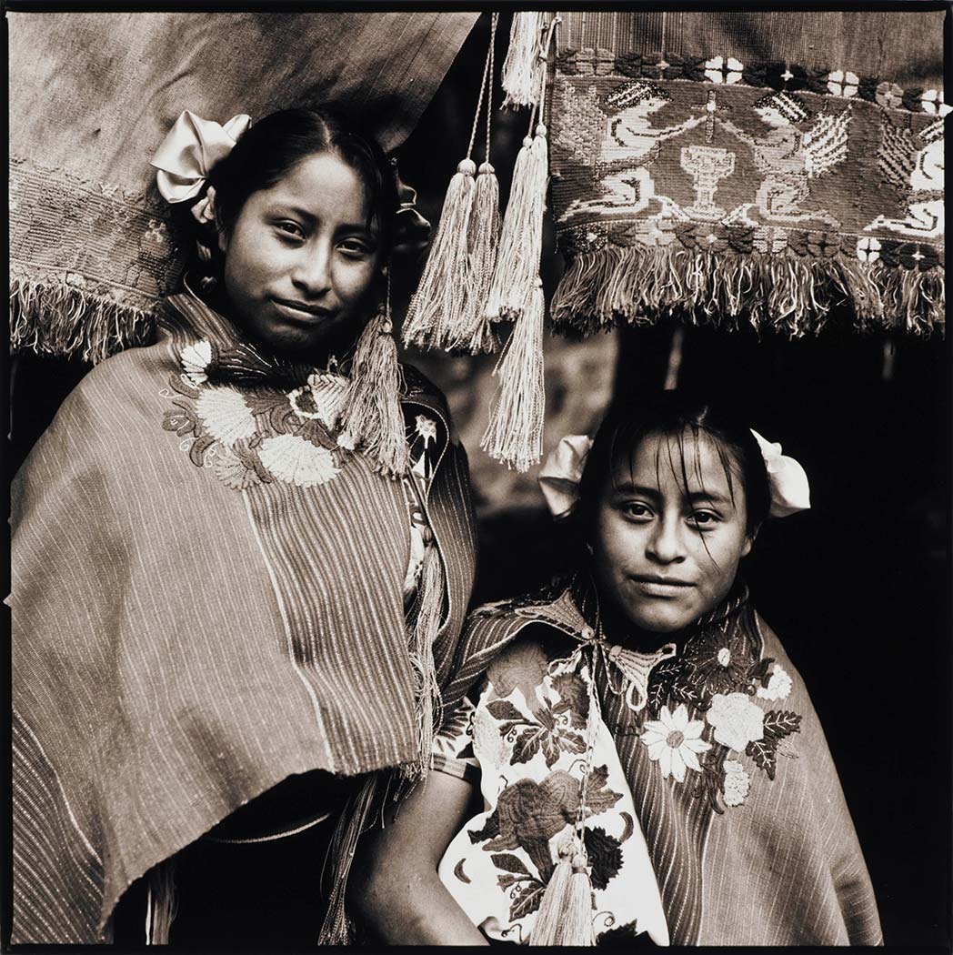 mayan girls chiapas